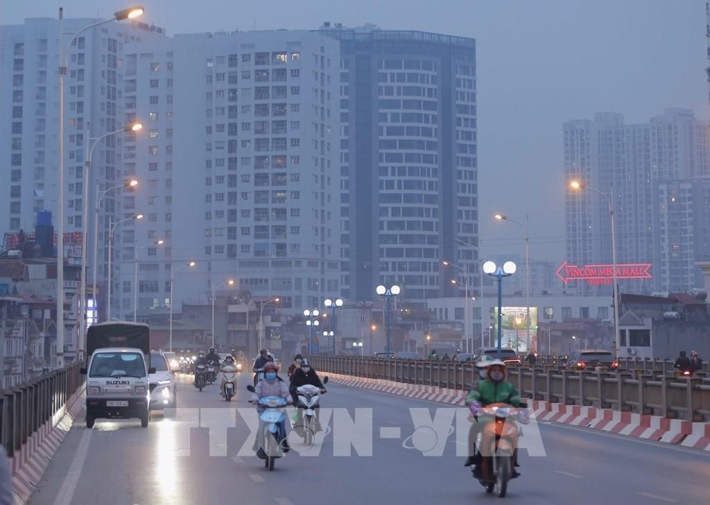 Ô nhiễm không khí các tỉnh miền Bắc đầu năm 2021 vẫn ở mức cao