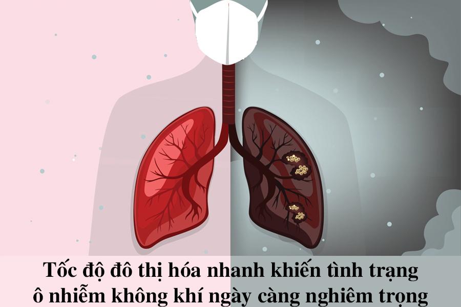 Cảnh báo các bệnh về đường hô hấp do ô nhiễm không khí